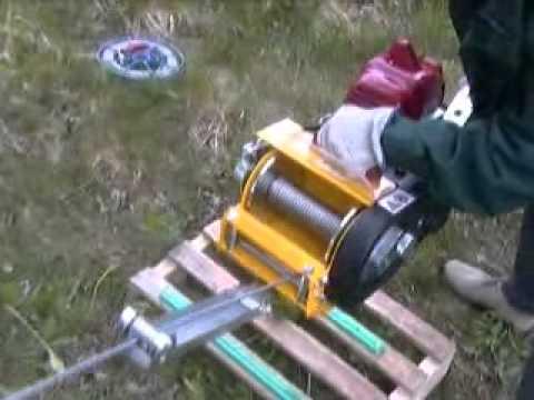 Dva Snc Verricello Va1530gf Con Motore Per Decespugliatore Youtube