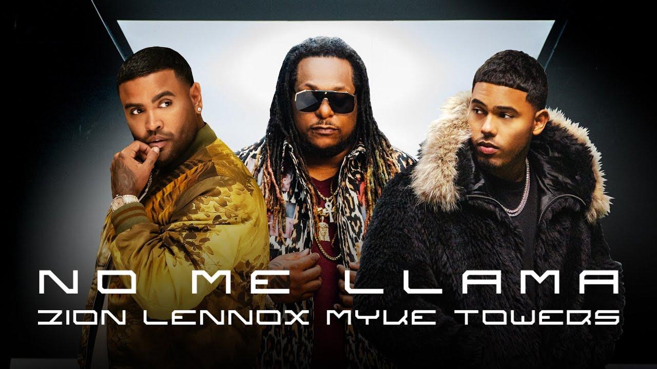 Zion & Lennox, Myke Towers - No Me Llama (Video Oficial)
