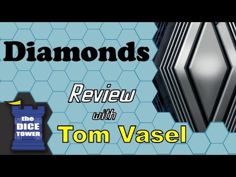 Diamonds Review - with Tom Vasel