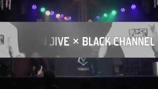 BOPPiN JIVE×BLACK CHANNEL