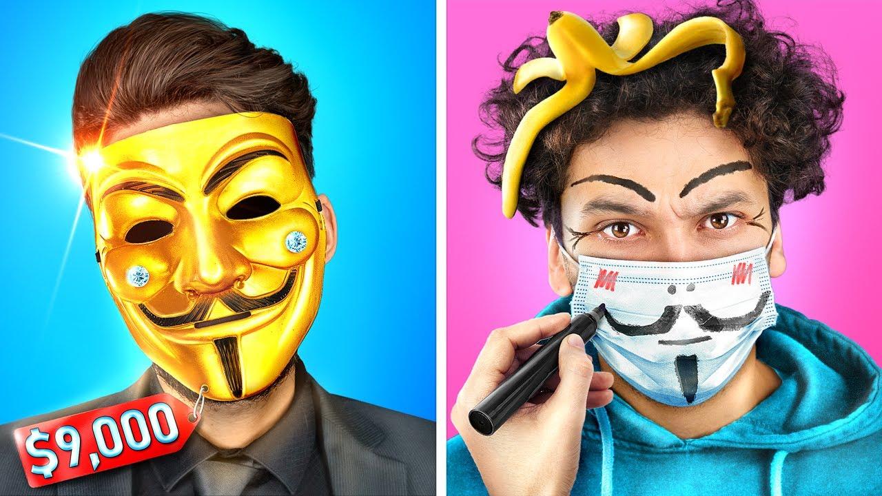 Богатый хакер vs Бедный хакер