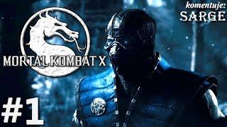 Zagrajmy w Mortal Kombat X [60 fps] odc. 1 - Johnny Cage (Rozdział 1)