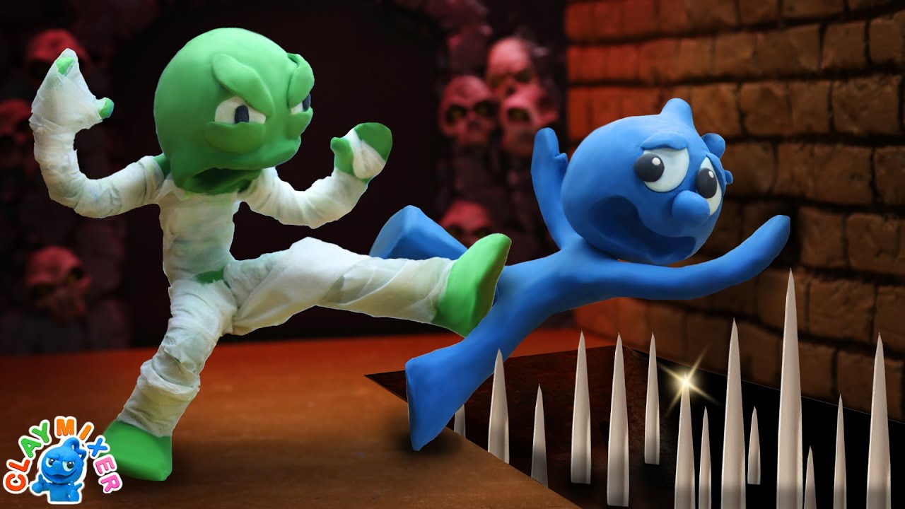 Tiny Gets Himself A Mummy - Movie Stop Motion Animation Cartoons