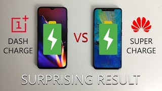 OnePlus 6T vs Huawei Mate 20 Pro: Battery Charge Test