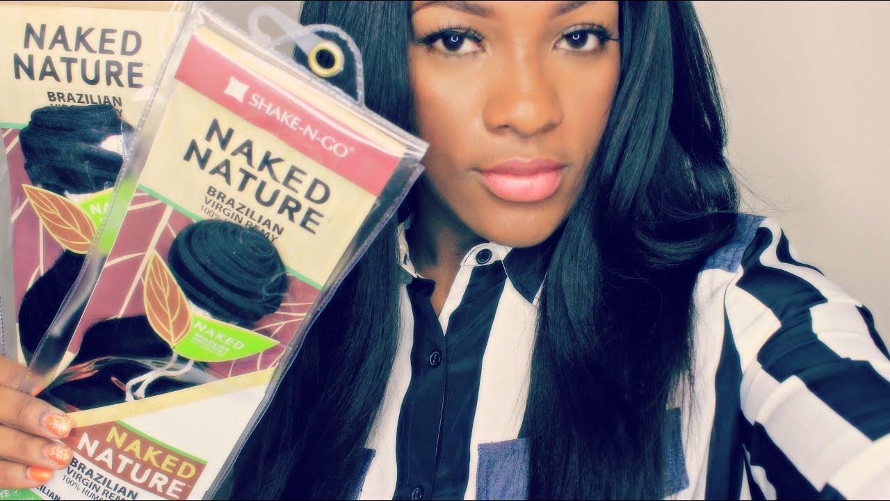 Shake N Go Brazilian Virgin Remy Hair Naked Nature Unboxing 1st