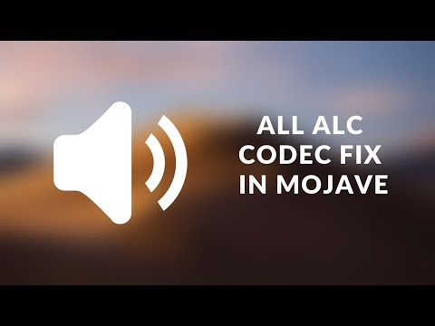 How To Fix Hackintosh Native Sound With Mojave - AppleALC - Or Any MacOS Version!