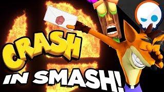 If Crash Bandicoot was in Super Smash Bros. Ultimate! | Gnoggin