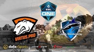 Virtus Pro vs Vega Squadron - ESL One Frankfurt EU Qualifiers - Caster : RoCkLEE [THAI CASTER]