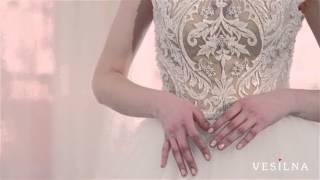Свадебное платье 2016 года от VESILNA™ модель 3037