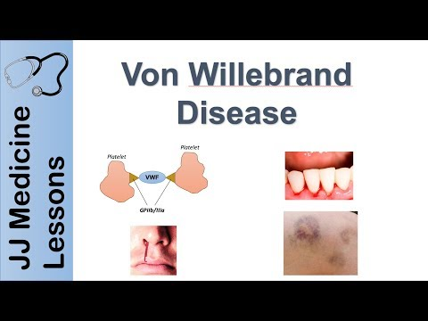 Von Willebrand Disease | Pathophysiology, Types, Symptoms And Treatment