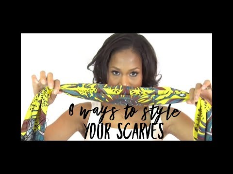 8 Ways to Wear Your Scarves