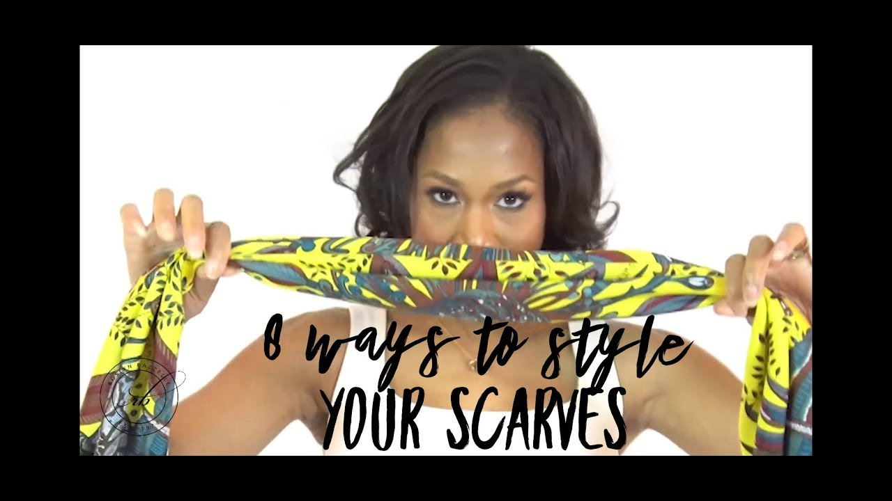 8 Ways to Style A Scarf with Roslyn