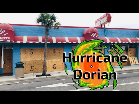 Myrtle Beach, SC Preps For Hurricane Dorian