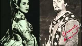 Download Leyla Gencer vs. Cornell MacNeil (Rigoletto: