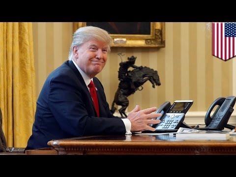 Trump's first 100 days: President Trump works hard for the money day-in, day-out