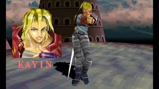 Battle Arena Toshinden - Kayin Amoh playthrough