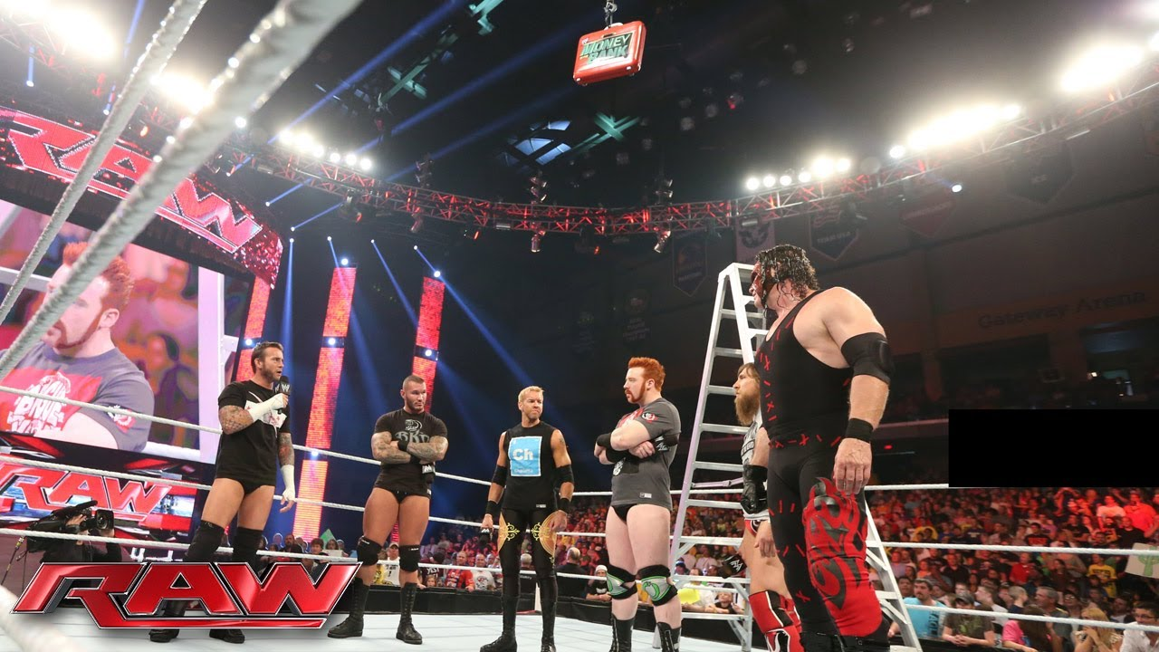 the money in the bank all stars brawl at the start of raw raw july