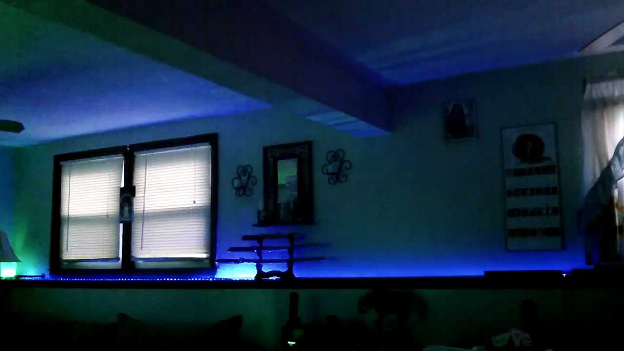 Living room led lighting with dream kit youtube for Lights for your room
