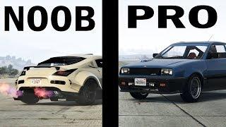 NOOB VS PRO Carguy in GTA Online