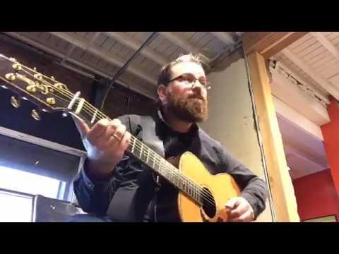 Lance Allen live performance at Just Love Coffee Music Row Nashville TN
