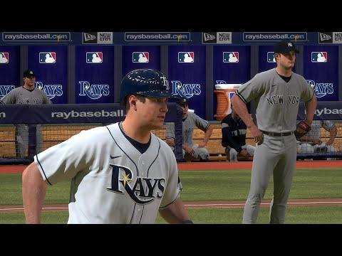 MLB The Show 20 Gameplay - New York Yankees Vs Tampa Bay Rays 9 Inning Game - MLB 20 PS4