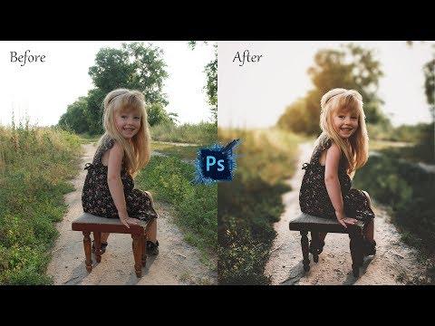 Photoshop Tutorial : Cinematic Outdoor Portrait Color Grading In Photoshop CC By Massive Editz thumbnail