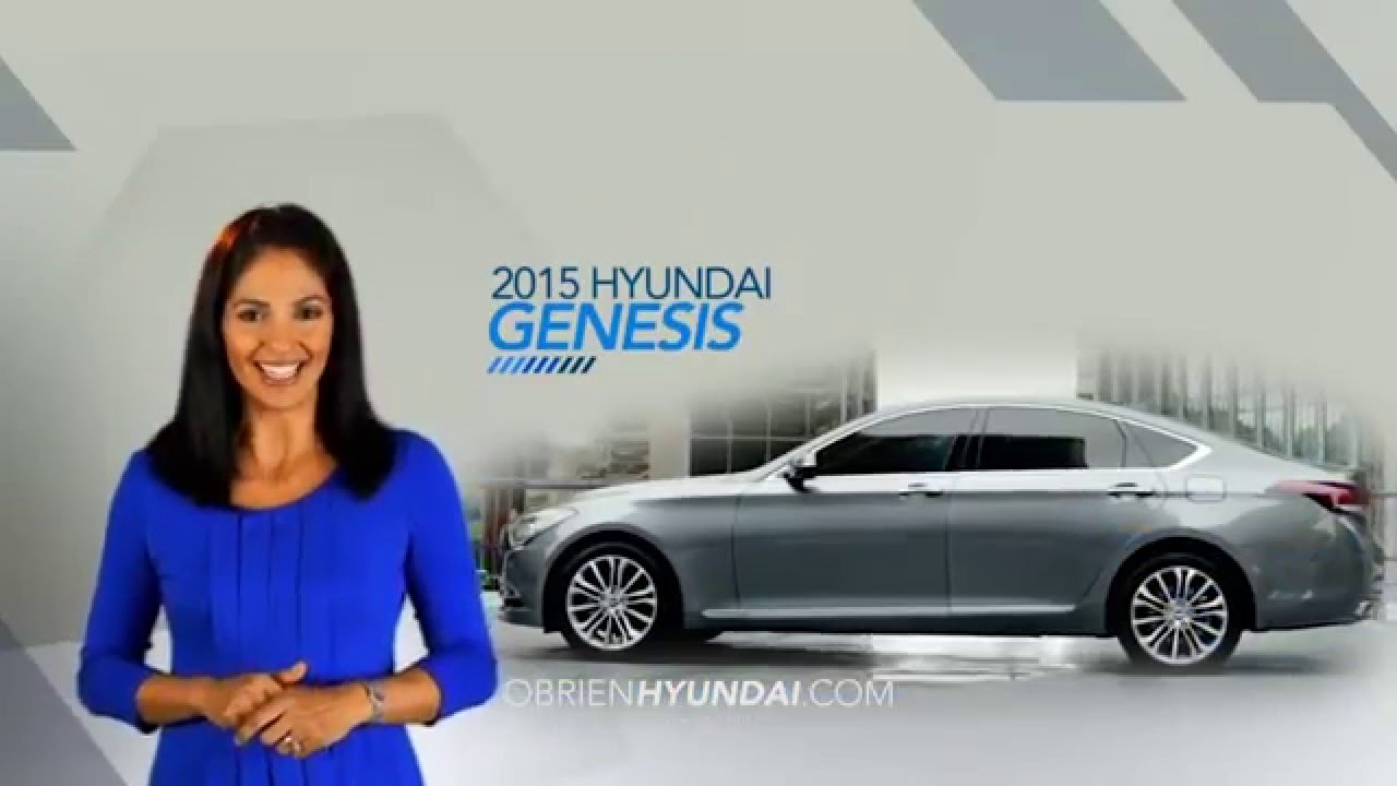 o 39 brien hyundai of fort myers 2015 genesis overview spanish youtube. Black Bedroom Furniture Sets. Home Design Ideas