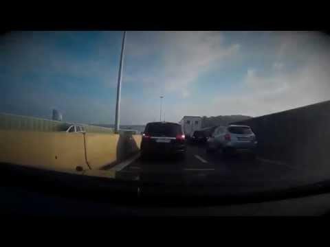 Maastricht-Frankrijk dashcam TimeLaps