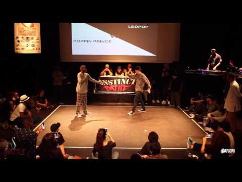 Instinct Battle 2017   1/2 Finale Pop   Popping Prince Vs Leo Pop