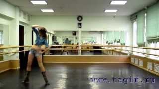 Видео уроки танца живота: Ковбойский танец (5 часть комментарии)