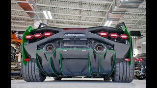 Lamborghini SIAN - Flash of Lightning 819HP Masterpieces First Look - Delivery To Lamborghini Miami