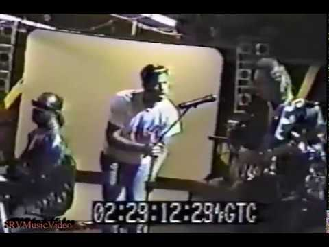 Stevie Ray Vaughan & Stevie Wonder's Characters - Backstage and Rehearsal 04/27/1988
