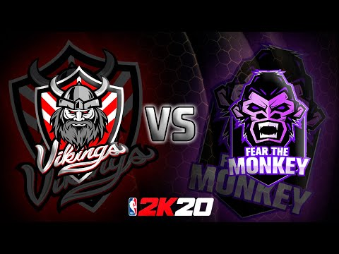 2K20 - VIKINGS 2K VS FEAR THE MONKEY - Pro AM Friendly Match Up  GAME 2