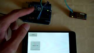Arduino Bluetooth LED controlled from Android phone with RoboRemo app
