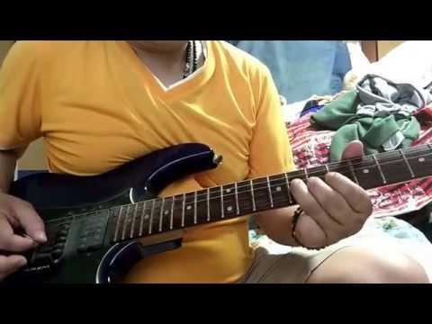 気分爽快(森高千里)エレキギターで弾きました。