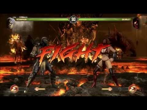 Mortal Kombat 9 Fight Gameplay One Vs One