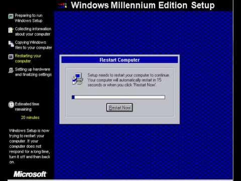 Windows Me Installation