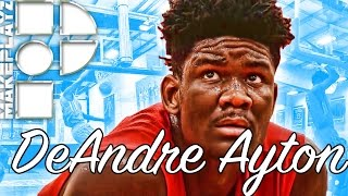 Deandre ayton is the best player in 2017! shows out in eybl session 3!