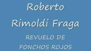 REVUELO DE PONCHOS ROJOS