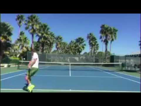 Tetsuya Ota - Tennis - College video - Fall 2017 - JPN
