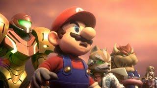 Super Smash Bros Ultimate: Final Boss + All Endings (No Deaths)
