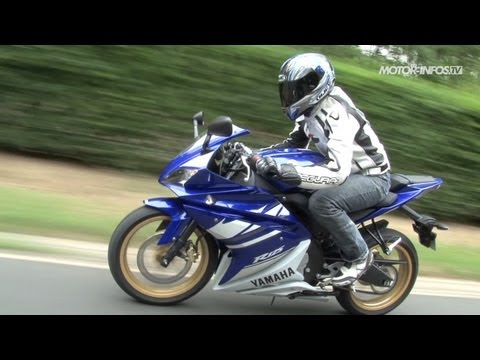 essai yamaha yzf r 125 youtube. Black Bedroom Furniture Sets. Home Design Ideas
