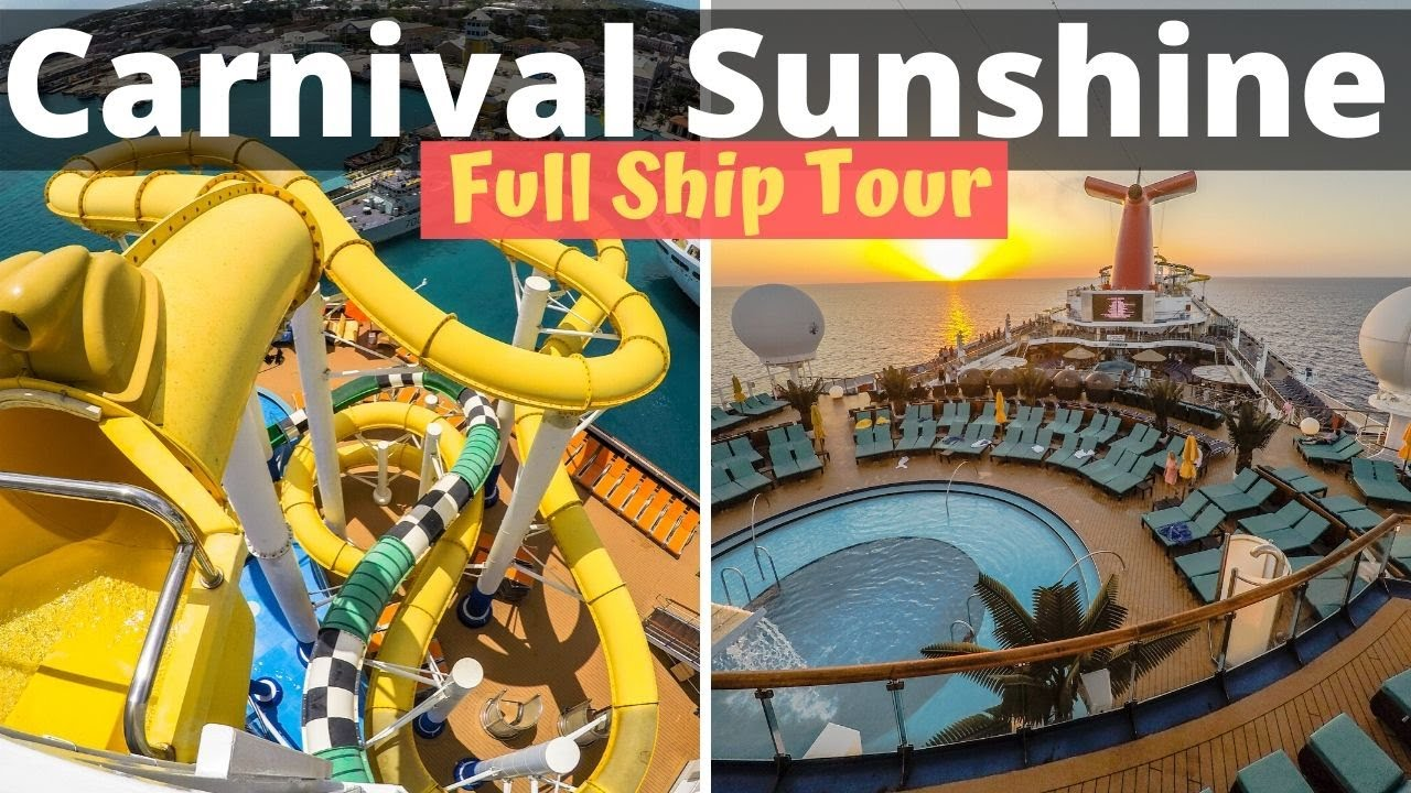 Carnival Sunshine Cruise Ship Video Tour By Cruise Fever