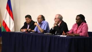 Panel de reflexión - Region, Formacion Politica y Gobernabilidad