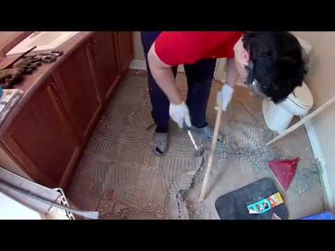 Bathroom Renovations Time Lapse | Demolition Part#1