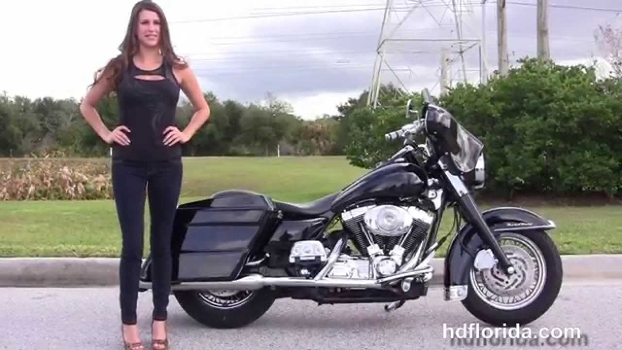 Used 2002 harley davidson road king classic motorcycles for sale youtube