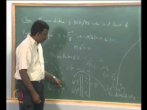 Mod-01 Lec-13 BCH and RS Codes I