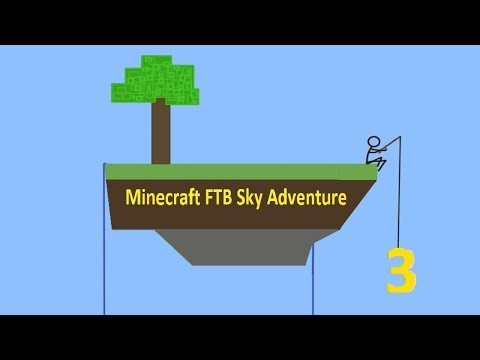 To Many Key BINDINGS!   Minecraft FTB Sky Adventure #3
