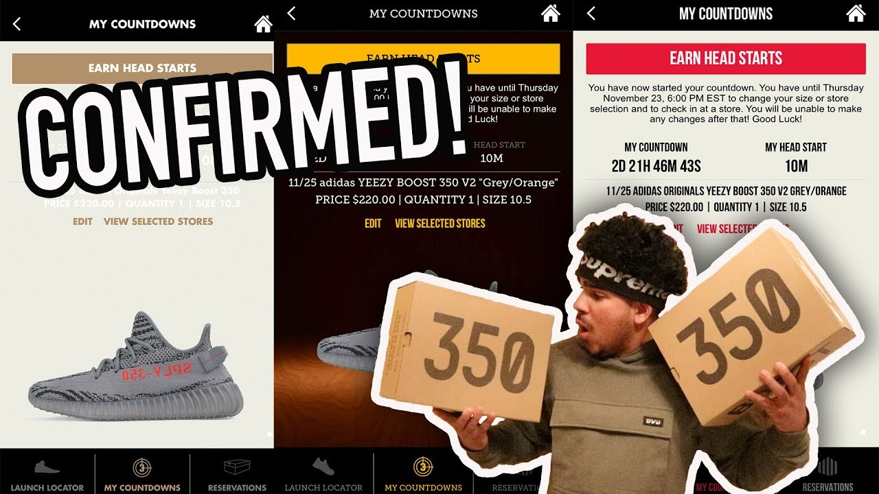 HOW TO SUCCESSFULLY RESERVE ADIDAS YEEZYS FOR RETAIL