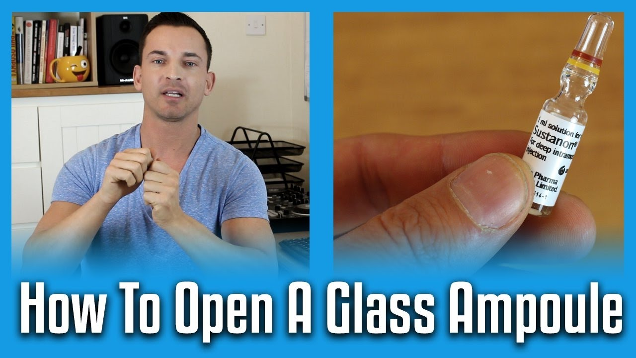 How to Open an Ampule foto